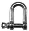 Stainless Steel Dee Shackles