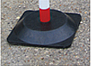 Square Plastic/Rubber Base