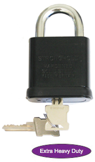 High security Open Shackle Padlock